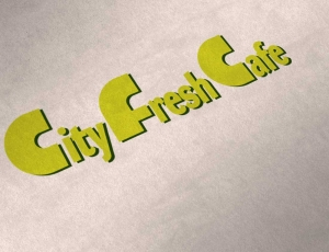 Логотип для кафе «City Fresh Cafe» в г. Тамбов
