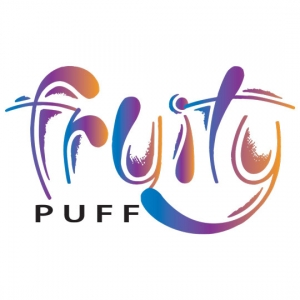 Разработка логотипа для магазина безкаркасной мебели Fruity puff в Уфе